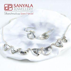 Silberschmuck-Set CLEARNESS - SANYALA