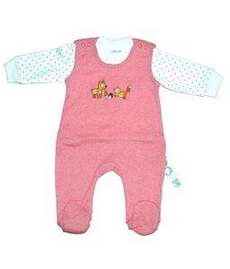 Baby Stramplerset altrosa Biologisch - EBi & EBi