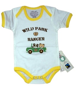 Fairtrade Body Wildpark gelb  Bio Baumwolle - EBi & EBi