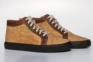 Nico  Hi-Sneaker (Kork, natur/braun) - Fairticken