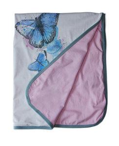 Kuscheldecke mit Schmetterlingen - Itsus