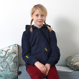 Kinder Zip Up Hoody 'Ameisen' - shop handgedruckt
