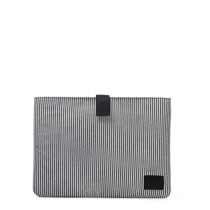 13″ Laptop Sleeve – Cotton Eco Black - O MY BAG