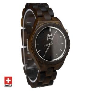 Handgemachte Armbanduhr aus Holz ⚒ Holzuhr ⚒ vegan ⚒ fair - 2nd Liar