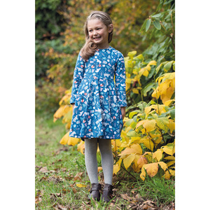 Sofia Skater Dress Forest Friends - Frugi