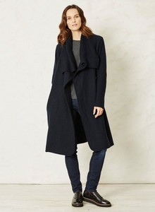 Dubois Coat - Black - Thought | Braintree