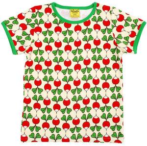 T-Shirt 'Radieschen' gelb Retroprint für Jungen und Mädchen - DUNS Sweden