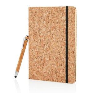 KORK - A5-Notizbuch mit Stift / Stylus aus BAMBUS - Xindao