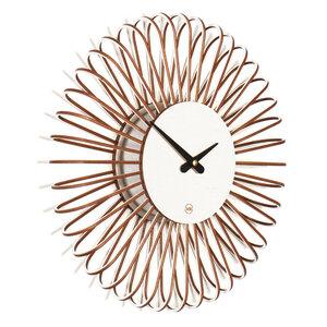 Design Wanduhr CIRCULO S aus Holz - farbflut Design
