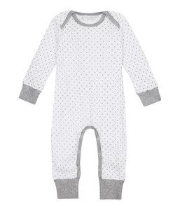 WAYAN Baby Langarmstrampler aus Bio-Baumwolle mit Sternen - sense-organics