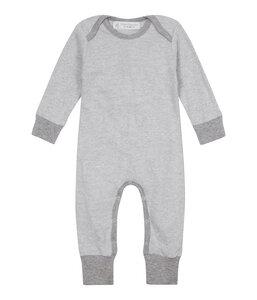 WAYAN Baby Langarmstrampler aus Bio-Baumwolle gestreift - sense-organics