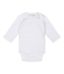 YVON Baby Langarm Wickelbody aus Bio-Baumwolle mit Sternchenmuster - sense-organics