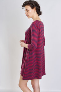 Rosie Striped Organic Cotton Tunic - bibico
