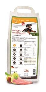 Bio-Trockenfutter: Geflügel mit  Apfel & Birne (2 kg) - SALINGO