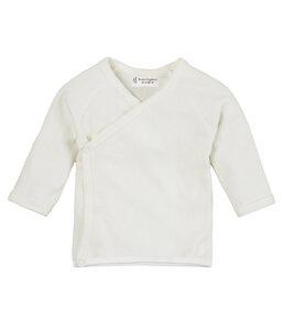 Baby Langarmshirt VICTORIA aus Bio-Baumwolle weiß - sense-organics