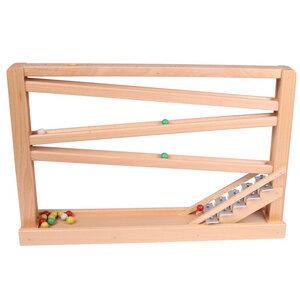 Kugelbahn mit Glockenspiel - Beck Holzspielzeug
