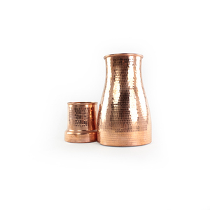 'Neera' Wasserkaraffe aus Kupfer - Kalakosh