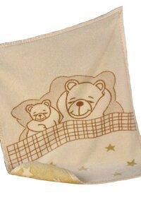 Baby Decke Bobo natur 75*100 Bio Baumwolle - Richter Textilien