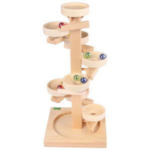 Tellerturm natur - Beck Holzspielzeug
