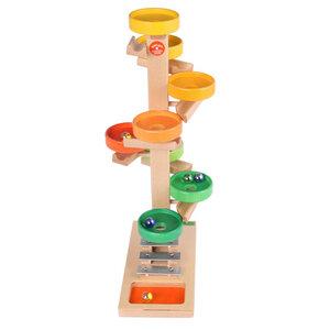 Tellerturm bunt - Beck Holzspielzeug