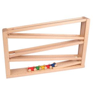 Laufbahn mit Tausendfüßler - Beck Holzspielzeug