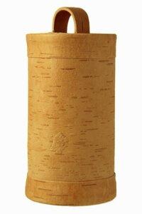 Zuckerdose aus natürlicher Birkenrinde - sagaan