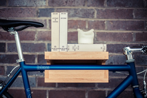 JOHANNES | Eiche Natur | Fahrrad Wandhalterung - Bicycledudes