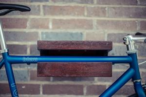 FRANZ JOSEF | Birke Dunkelbraun | Fahrrad Wandhalterung - Bicycledudes