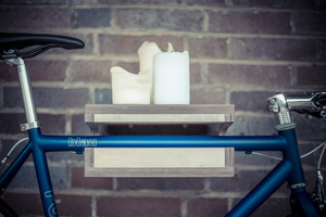 KARL | Birke Grau | Fahrrad Wandhalterung - Bicycledudes
