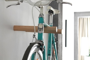 Fahrrad Wandhalterung 'HENRY' aus nachhaltigem Holz - Bicycledudes