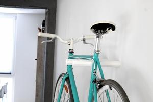 MAX | Eiche Weiß | Fahrrad Wandhalterung - Bicycledudes