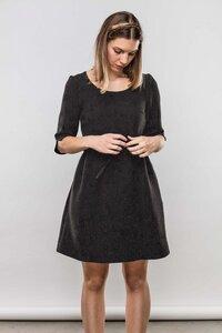 Winterkleid Rosalie aus Jacquardsamt - ME&MAY