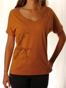 Fairwear Tencel Top Sudan Brown - Life-Tree
