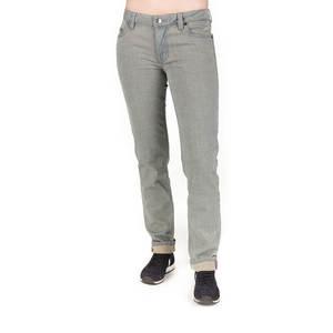 Straight Fit Jeans Damen Grau - bleed