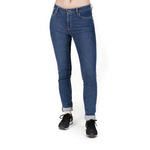 Straight Fit Jeans Damen Stone Washed - bleed