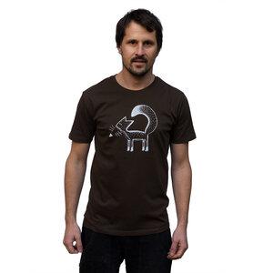 Franzi Fuchs T-Shirt für Herren braun - Cmig