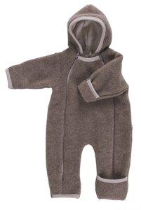 Baby Overall Wollvlies hellbraun  - iobio