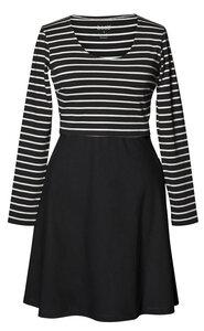 2 in 1 Stillkleid und Umstandskleid 'Simone' schwarz-weiß und rot-blau - Boob
