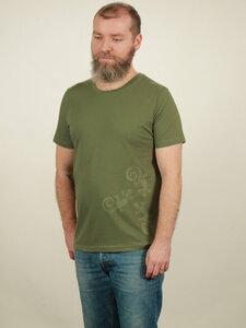 T-Shirt Herren - Three Geckos - green - NATIVE SOULS