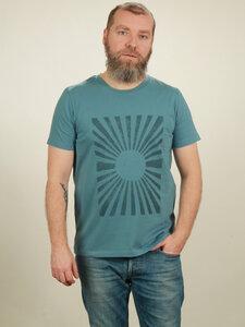 T-Shirt Herren - Sun - light blue - NATIVE SOULS