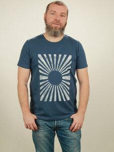 T-Shirt Herren - Sun - dark blue - NATIVE SOULS