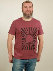 T-Shirt Herren - Sun - berry - NATIVE SOULS