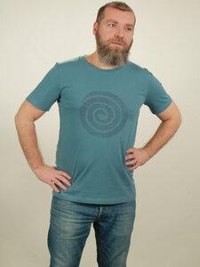 T-Shirt Herren - Snake - light blue - NATIVE SOULS