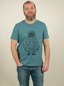 T-Shirt Herren - Inka - light blue - NATIVE SOULS