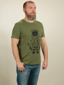 T-Shirt Herren - Inka - green - NATIVE SOULS