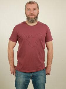 T-Shirt Herren - Dove - berry - NATIVE SOULS