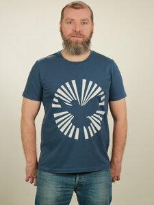 T-Shirt Herren - Dove Sun - dark blue - NATIVE SOULS