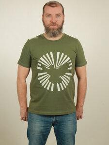 T-Shirt Herren - Dove Sun - green - NATIVE SOULS