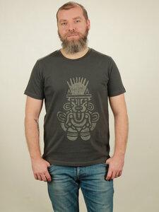 T-Shirt Herren - Inka - dark grey - NATIVE SOULS