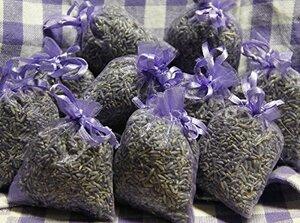 10 x Lavendelsäckchen mit französischem Lavendel - 100g Lavendel - Quertee